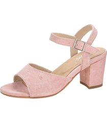 sandaletter klingel rosa