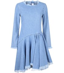 7 for all mankind ruched dress