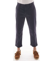 ymc hand me down trousers - navy p4maw-40
