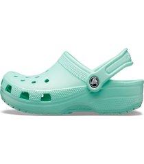 sandália crocs classic clog verde claro