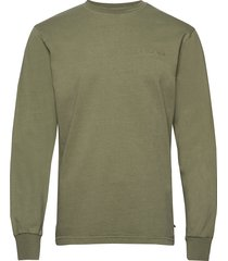 casual long sleeve tee sweat-shirt trui groen han kjøbenhavn