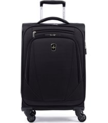 "closeout! atlantic infinity lite 4 21"" expandable spinner suitcase"