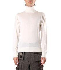 dolce & gabbana high neck cashmere sweater