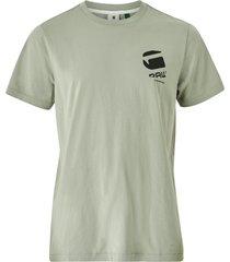 t-shirt big logo back gr r t ss