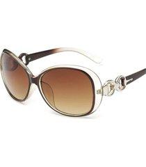 gafas lentes sol mujer ovalada uv400 3016 rosado