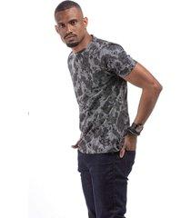 t-shirt masculina caveiras preta