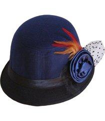 sombrero bucket greta azul viva felicia
