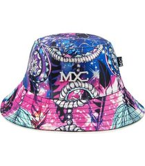 chapéu bucket hat mxc brasil estampado full print - masculino