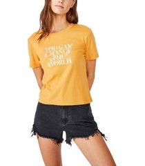 cotton on essential slogan t-shirt