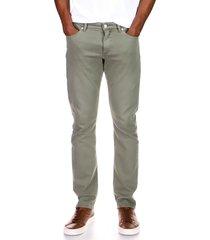 men's dl1961 men's slim straight stretch jeans, size 34 - grey