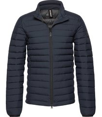 beret jacket man gevoerd jack blauw ecoalf