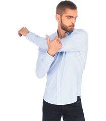 camisa business casual premium super stretch para hombre 91005