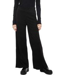 pantalón eclipse negro - calce holgado