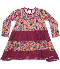vestido multicolor cante pido arco iris emoji viole