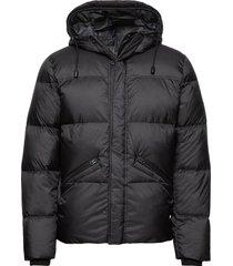 woven outdoor jacket fodrad jacka svart marc o'polo