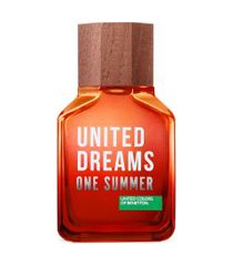 perfume benetton united dreams one summer masculino eau de toilette 100ml único