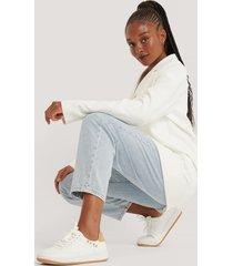 na-kd shoes sneakers med na-kd-logo - white