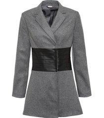 cappotto in misto lana (grigio) - bodyflirt boutique