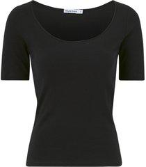 topp t-shirt ribbed basics by biderman