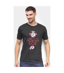 camiseta nfl washington redskins side star wars masculina