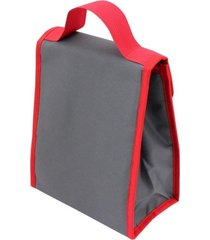 bolsa térmica tam. g lisa jacki design urbano vermelho