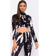 akira night city tie dye long sleeve top