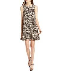 women's halogen a-line dress, size xx-large - brown