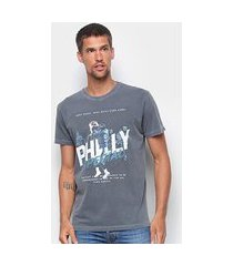 camiseta basic as philly special masculina