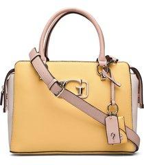 annarita girlfriend satchel bags top handle bags geel guess