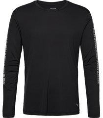 ls perf tee m night night t-shirts long-sleeved svart björn borg