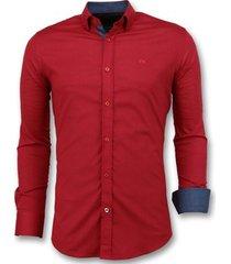 overhemd lange mouw tony backer italiaans blouse