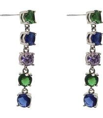 stringin ear forrest mix örhänge smycken multi/mönstrad pipol's bazaar