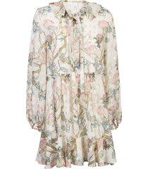 chlo © all-over print dress