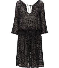recreation dress knälång klänning svart odd molly
