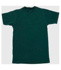 camiseta t shirt lisa look store verde