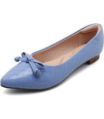 baleta azul moleca