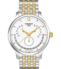 reloj tissot t-classic tradition perpetual t063.637.22.037.00 hombre