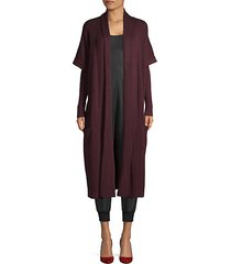 merino wool duster coat