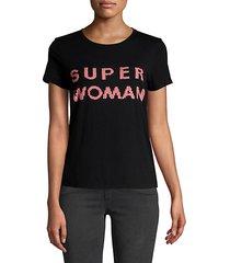 super woman sequin tee