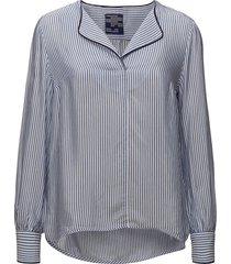 my blouse lange mouwen blauw baum und pferdgarten
