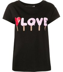 love moschino t-shirts and polos