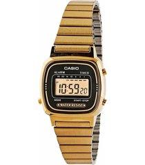 reloj casio la-670wga-1d-dorado