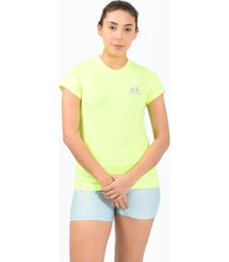 camiseta inspire verde para mujer