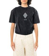 amish t-shirt uomo jersey rust nero p21amu200ca16xxx3