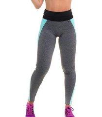 calça legging com proteção solar duo fit - sandy