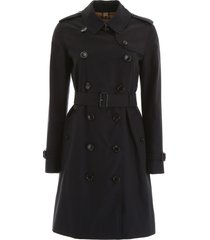 burberry midi kensington trench coat