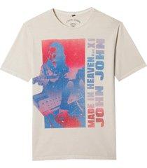 camiseta john john rx heaven xi masculina (cinza claro, gg)