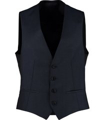 z zegna mohair and wool vest
