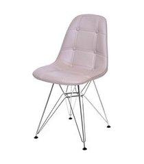 cadeira eames botone fendi base cromada - 43882 fendi