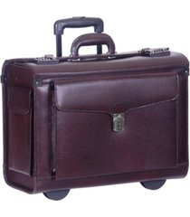 mancini business collection wheeled laptop catalog case